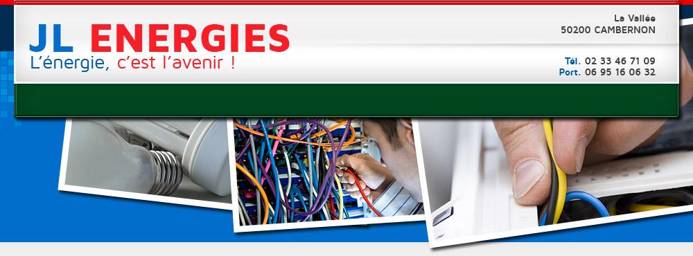 Prenez contact avec JL ENERGIES : plomberie, chauffage, électricité dans la Manche - Plombier – chauffage – électricité – géothermie - aérothermie